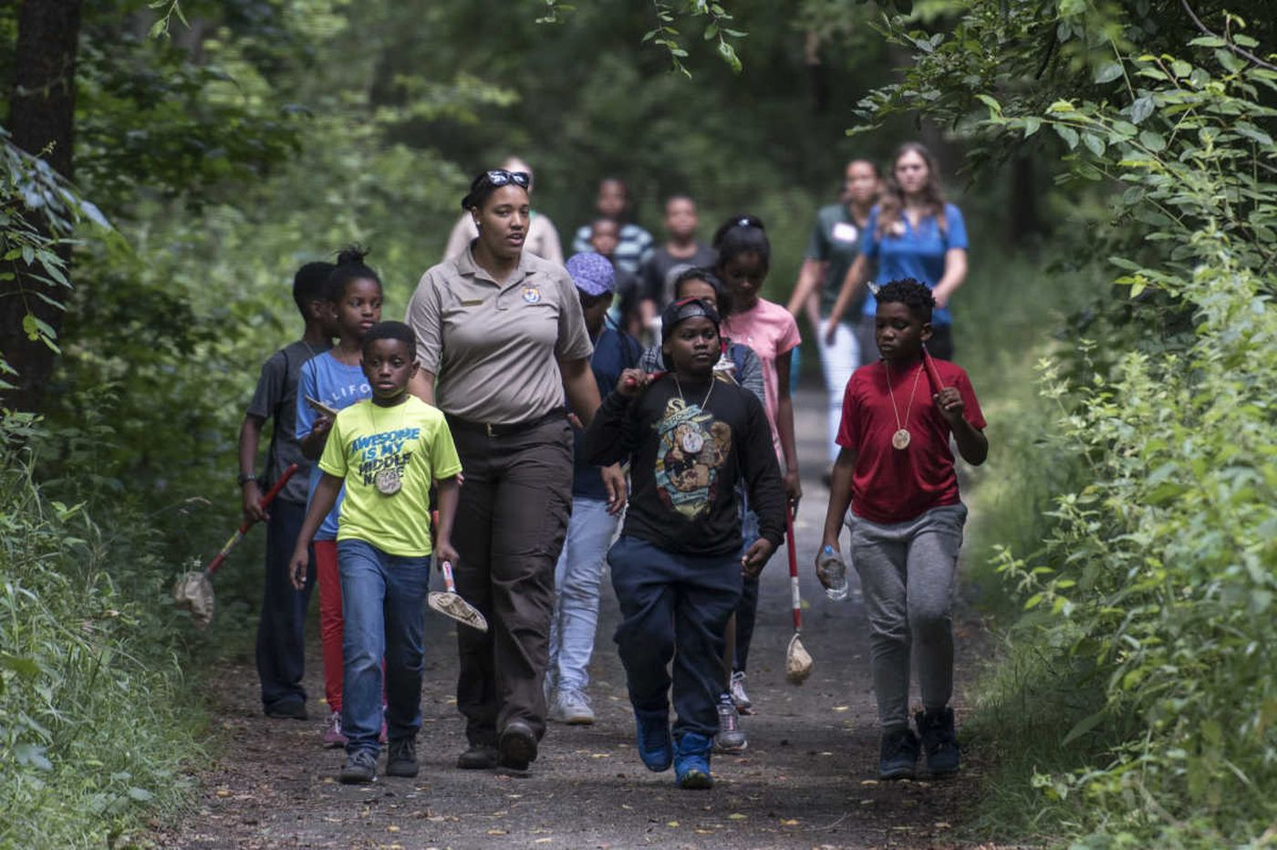 Philly doctors are now prescribing park visits to city kids