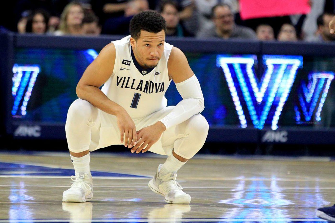 Villanova's Jalen Brunson entering the NBA draft