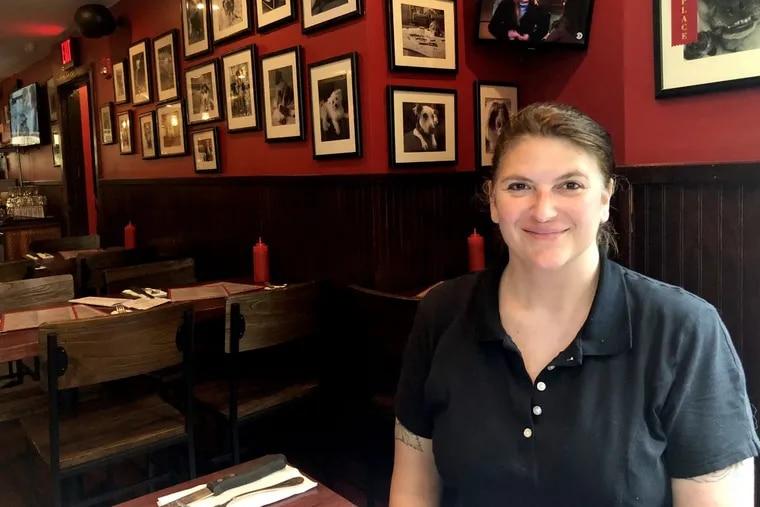 Chef Carolynn Angle at Good Dog Bar.