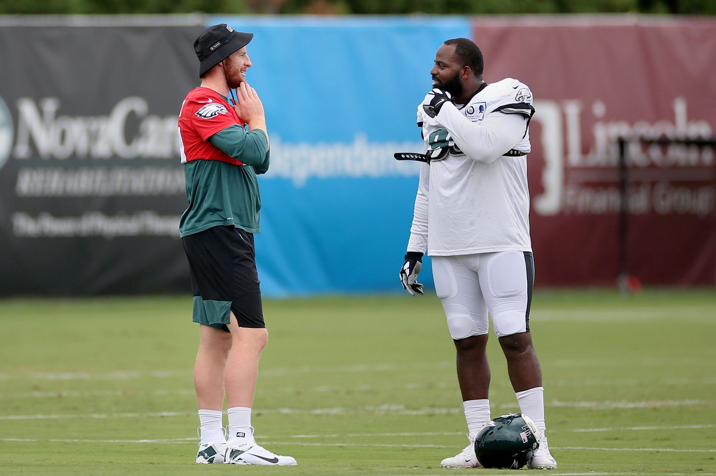 Eagles are cautious with Carson Wentz injury, and Doug Pederson says QB 'will be ready to go' Sept. 13