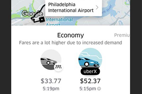 Snow joke — Uber and Lyft take Philly area users for rides costing up to six times normal