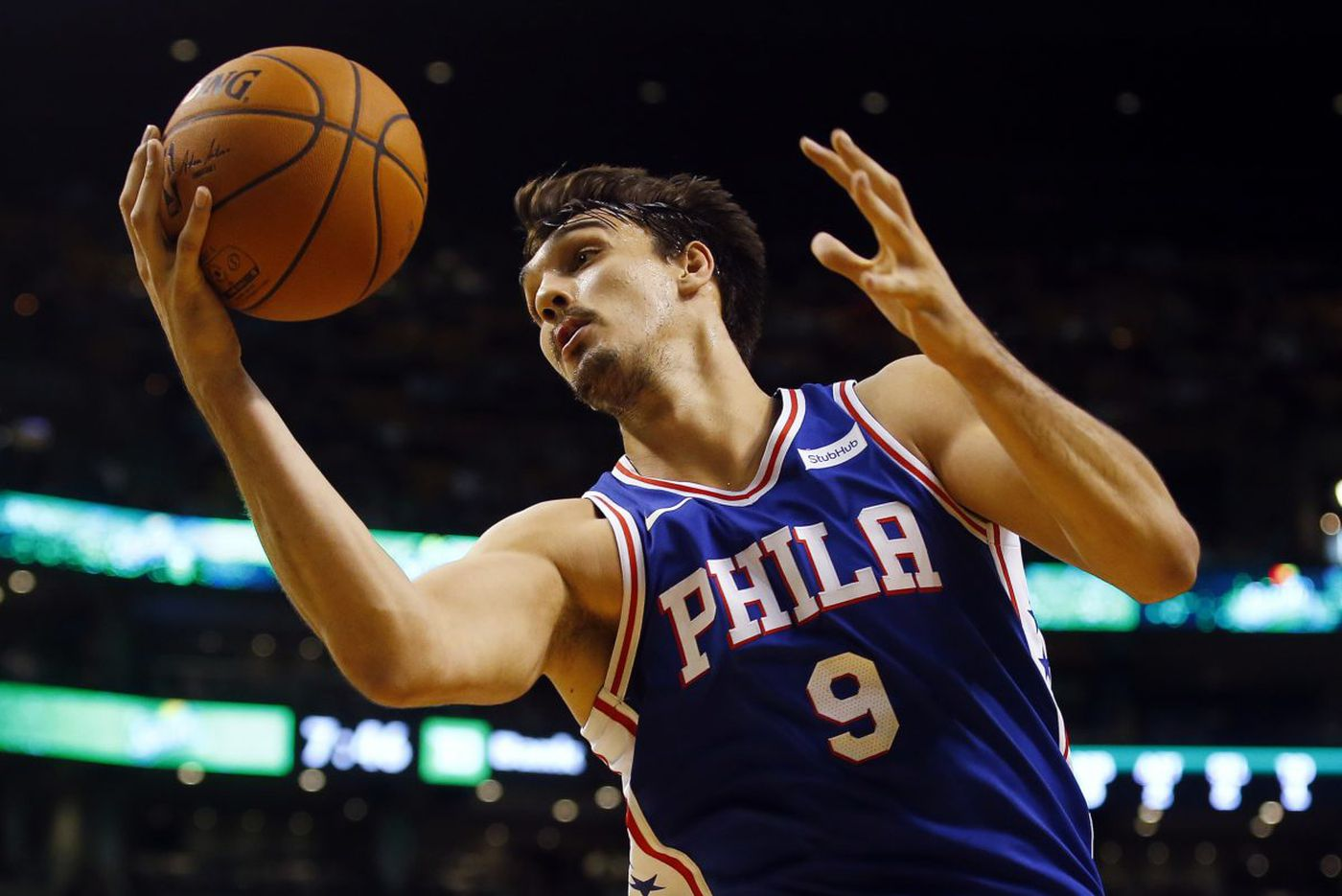 Sixers' Dario Saric is tirelessly improving his game