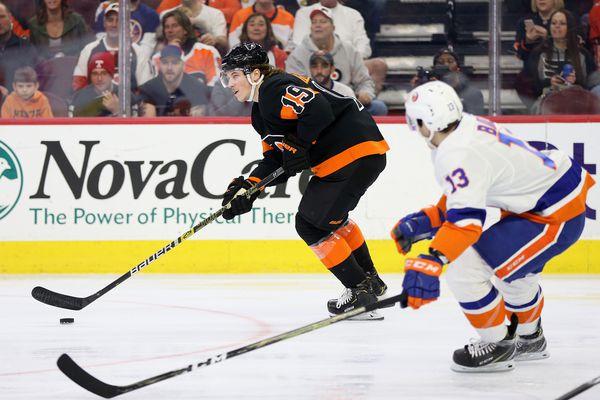 Nolan Patrick joins Flyers at practice, but Alain Vigneault downplays his appearance