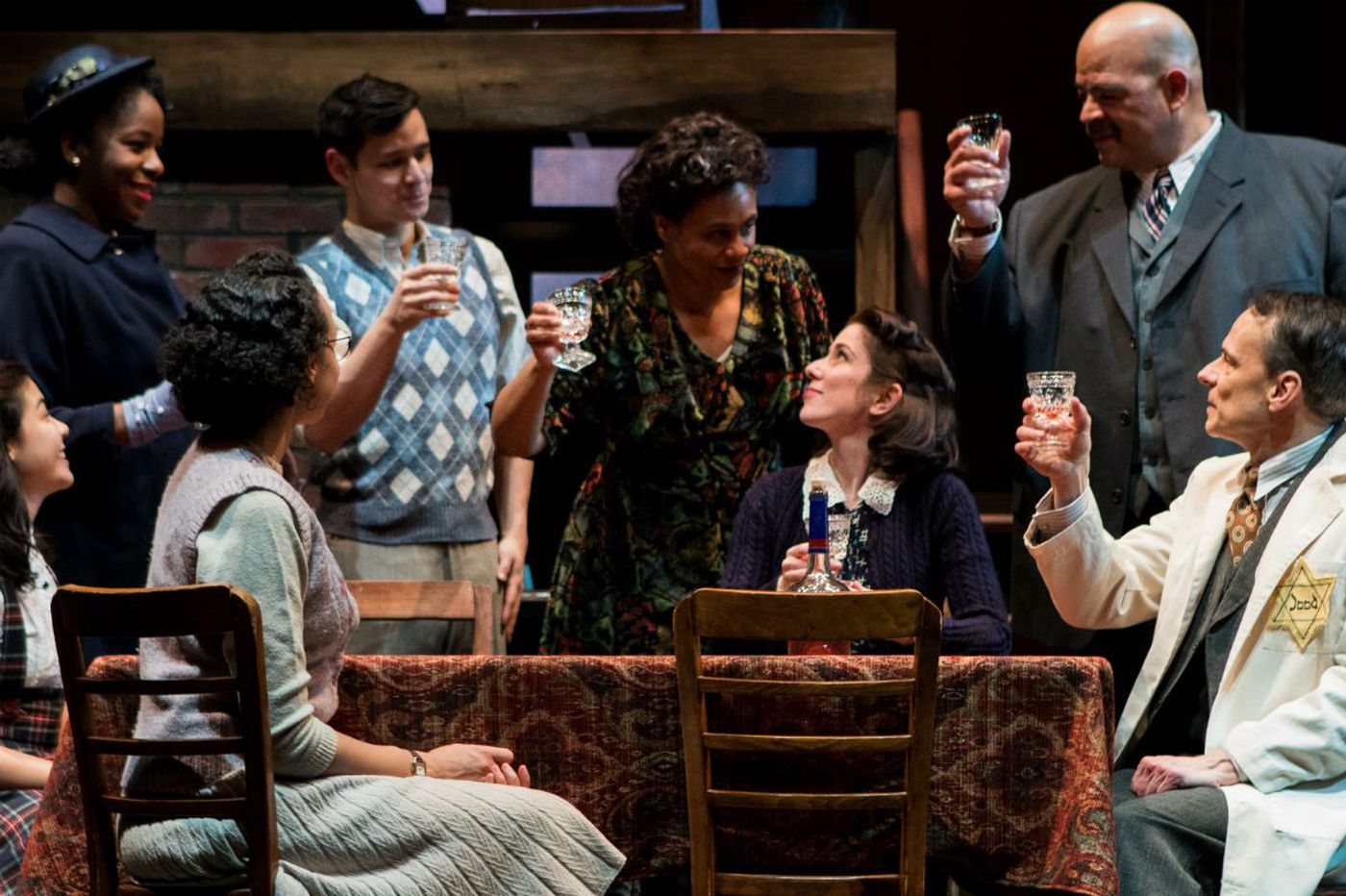 'Diary of Anne Frank' at People's Light: A girl grows up, and horror descends