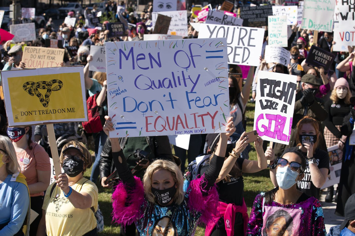 Women's March in D.C. draws thousands in protest of Supreme Court nominee, Trump