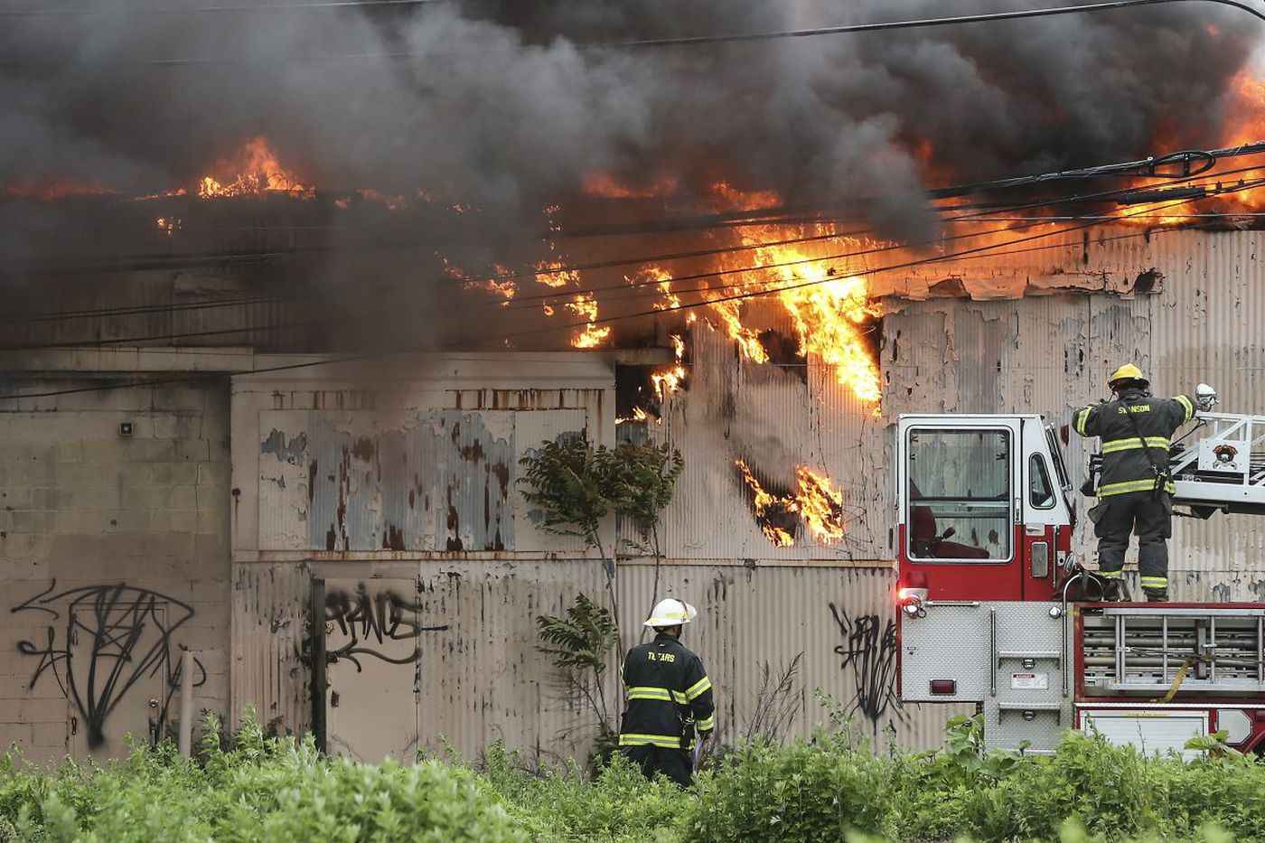 Cause of five-alarm fire in North Philadelphia still not known