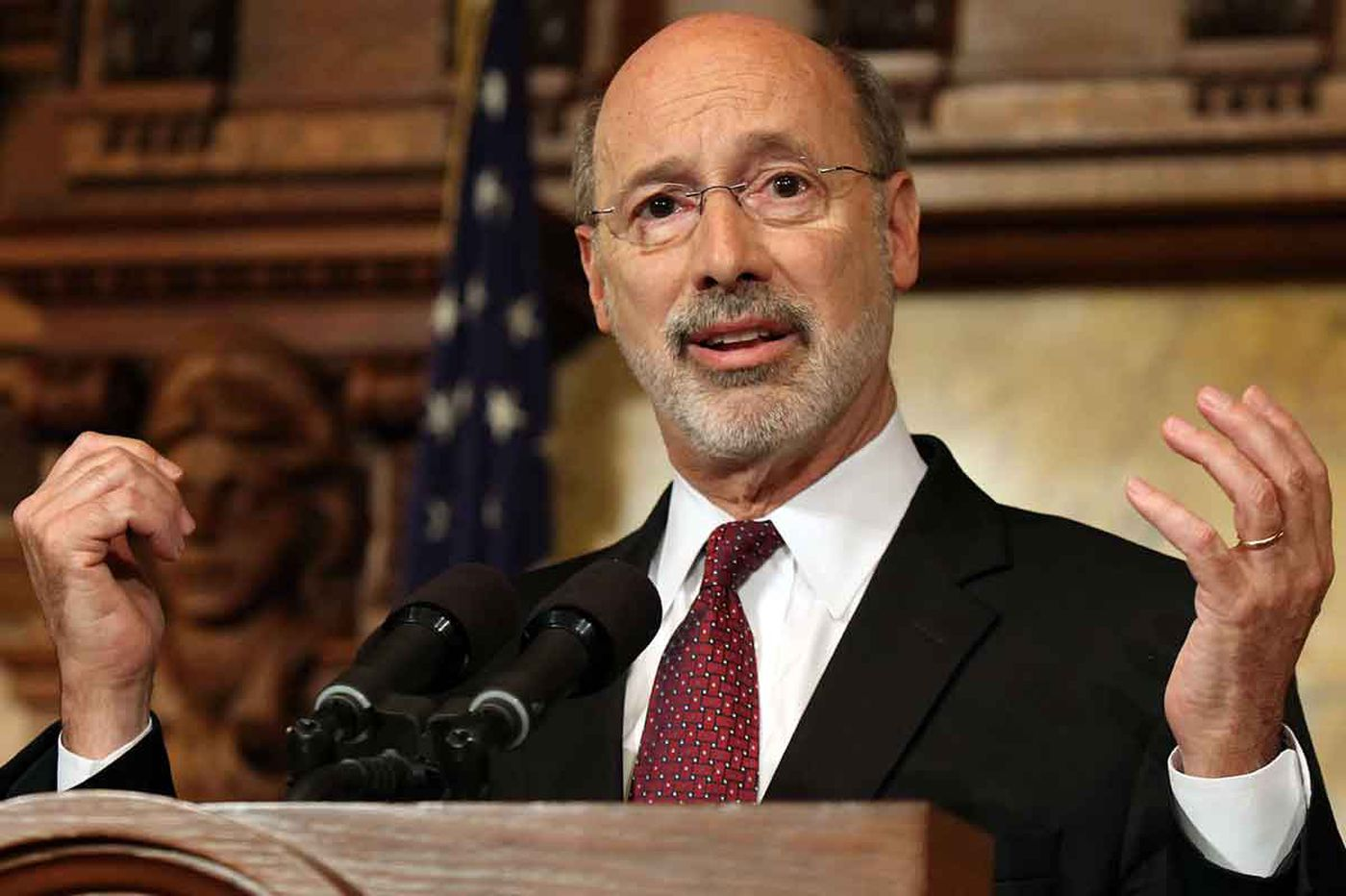 No money plan? No worry. Wolf to let $31.5B spending plan become law