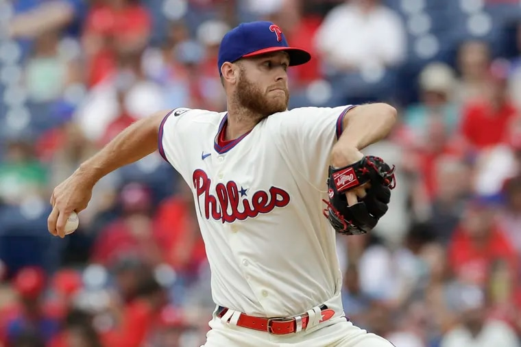 Phillies ace Zack Wheeler will start the opener of this week's all-important series in Atlanta.