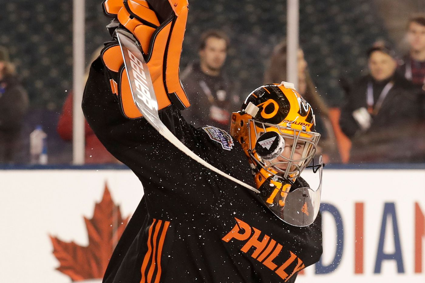 Carter Hart won't start in critical Stadium Series game for Flyers, as Scott Gordon selects Brian Elliott against Penguins