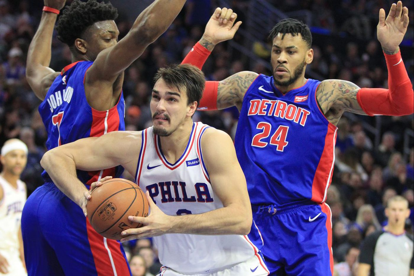 Sixers-Pistons: Robert Covington returns to form, and other quick thoughts from a 108-103 win