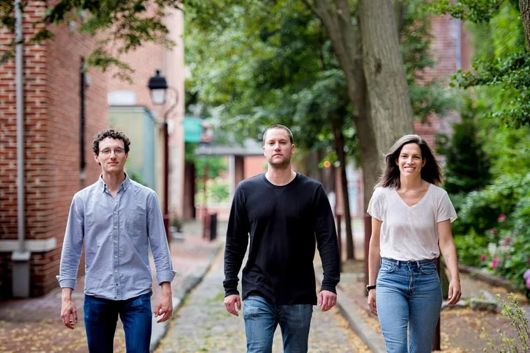 From left, Mainfactor co-founders Jamie Ross, MIke Fiebach, and Meredith Franzese.