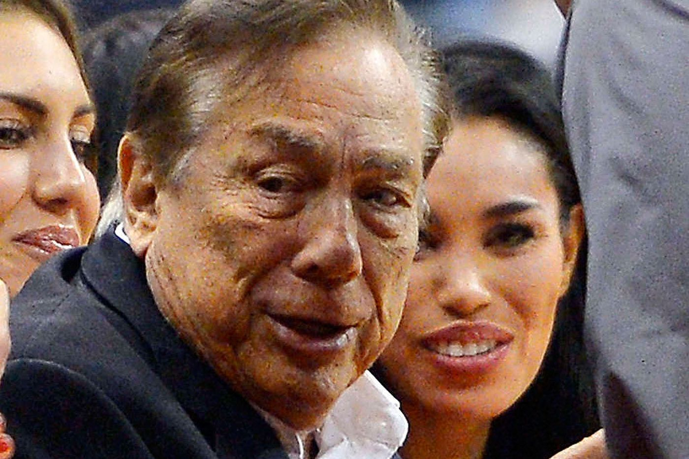 A tap on the shoulder for Donald Sterling