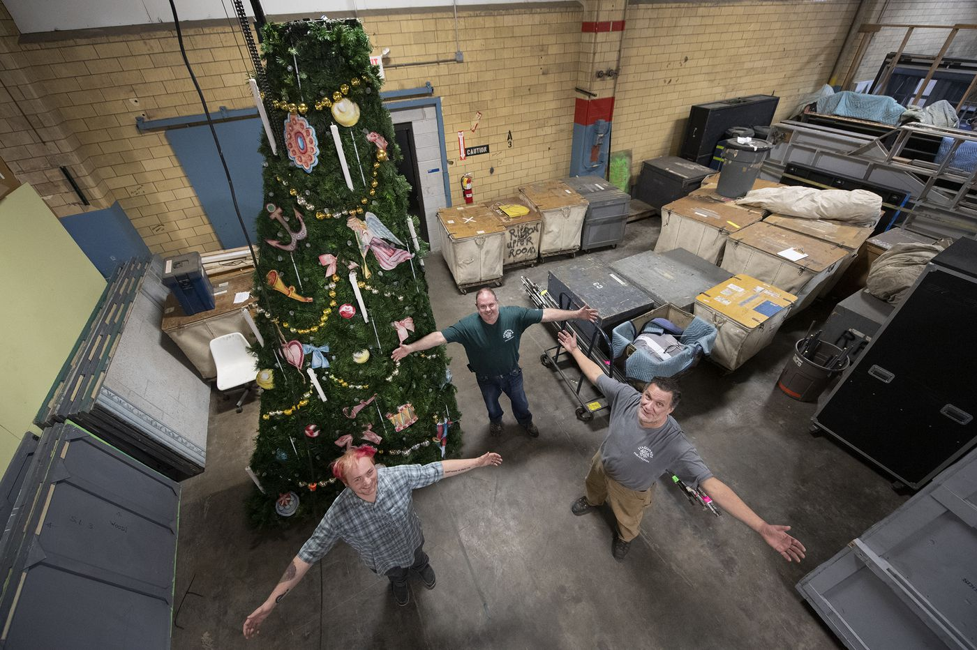 Pa. Ballet's 'Nutcracker' Christmas tree just got a $100,000 makeover