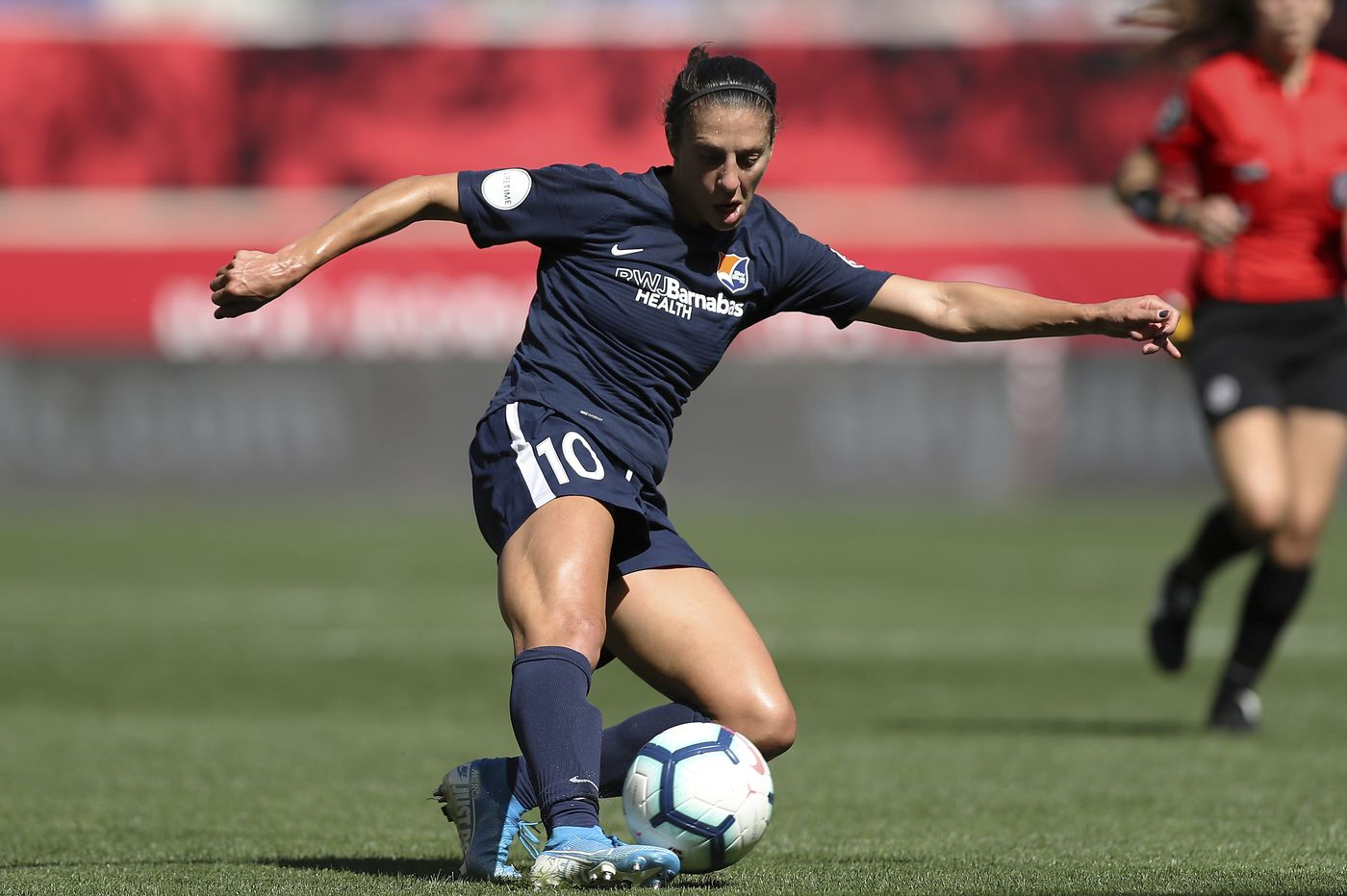 Carli Lloyd will miss NWSL Challenge Cup due to knee injury