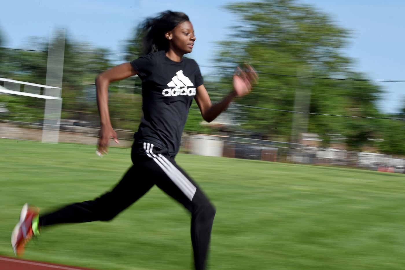 Track: Woodrow Wilson's Dennisha Page. St, Augustine's Sincere Rhea make marks at Meet of Champions
