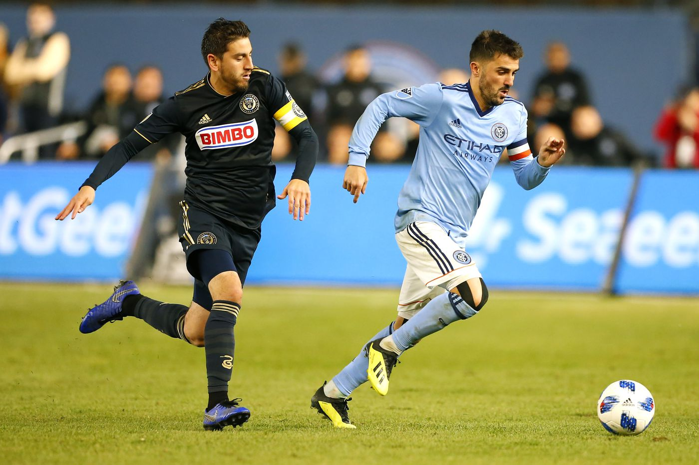 Alejandro Bedoya, Haris Medunjanin and Andre Blake prepare for what could be a volatile Union offseason