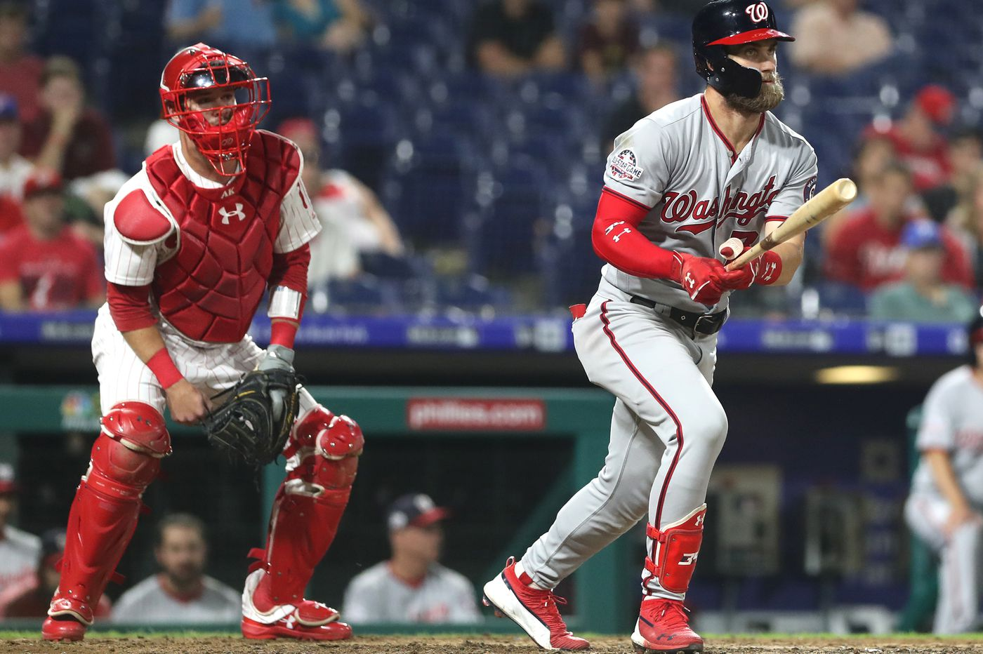 timeless design ee4db 717ad Bryce Harper drawn to Phillies in part because of  tailor-made  Citizens  Bank Park s potential to ...
