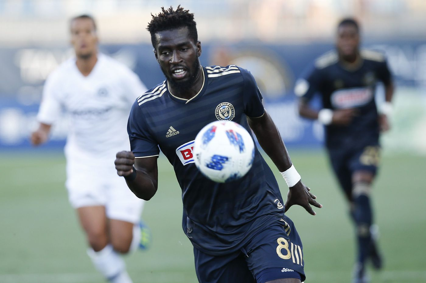Union's Derrick Jones called up to U.S. under-23 national team; Auston Trusty stays home