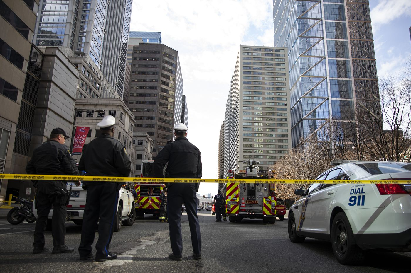Man found dead of self-inflicted gunshot wound in Center City apartment building, barricade lifted