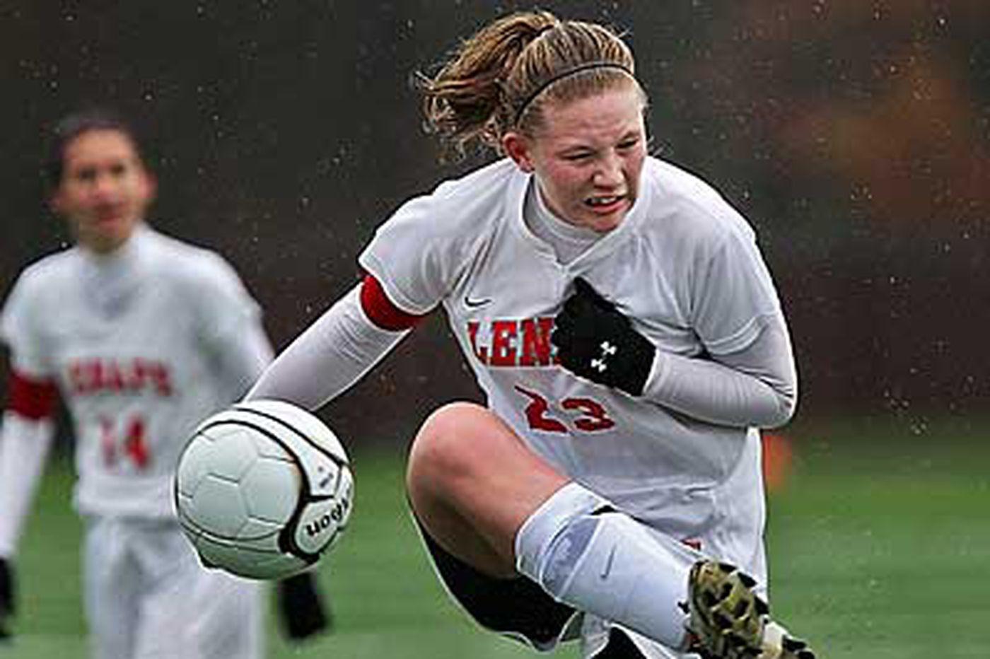 Three from Lenape among girls' soccer all-stars