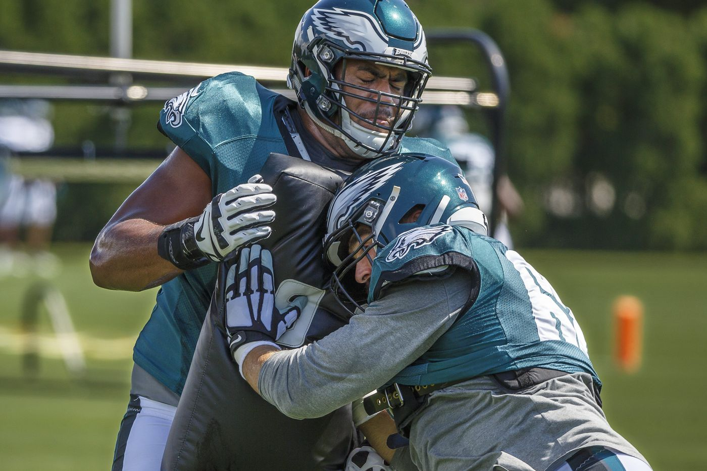 Could Jordan Mailata be the Eagles' starting left tackle in 2019?