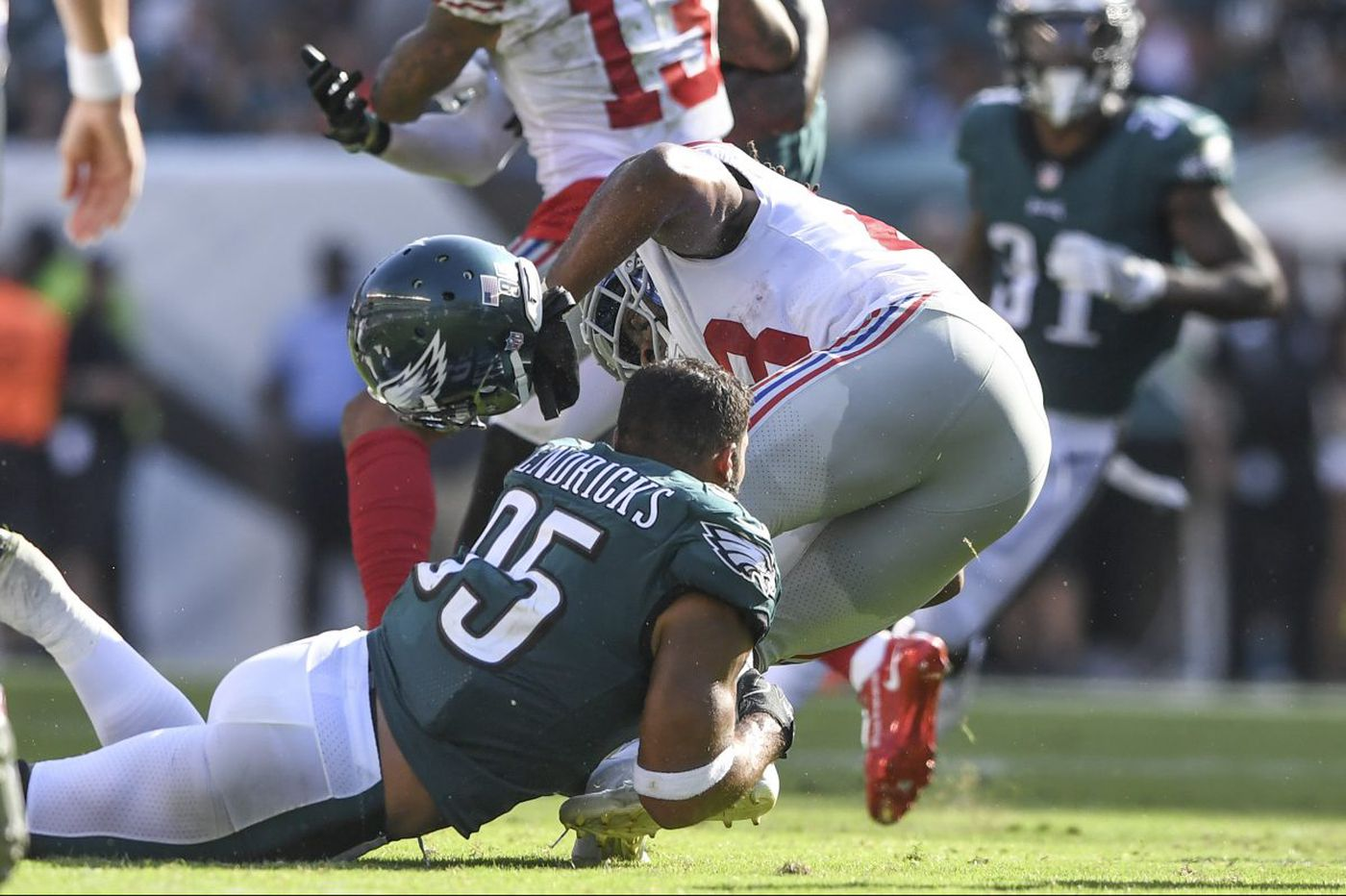 Mychal Kendricks (once again) can't hide frustration
