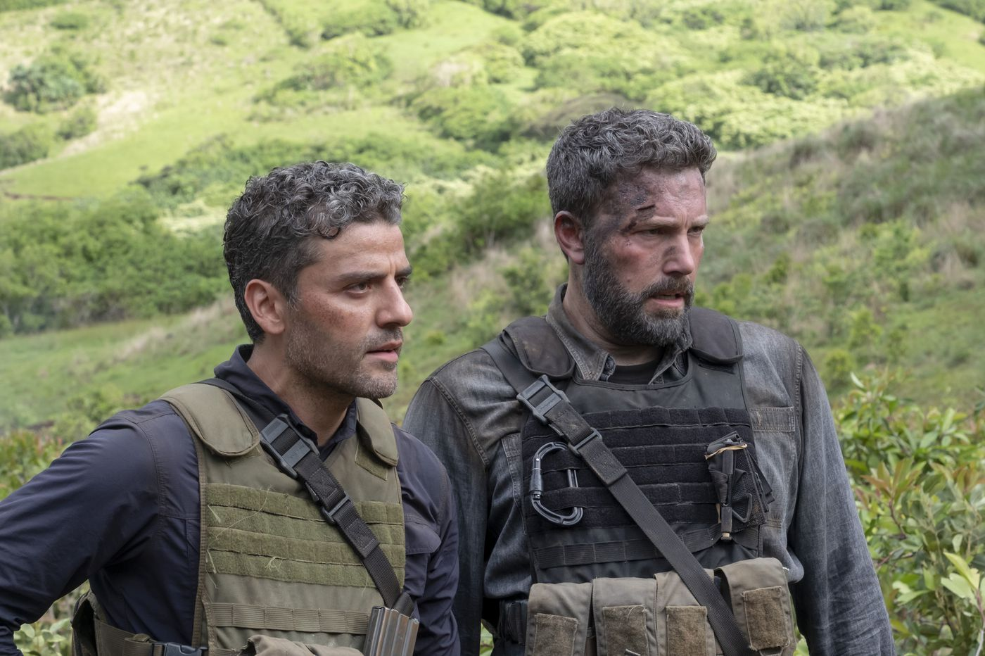 'Triple Frontier': Ben Affleck and Oscar Isaac search for blood and treasure in an era of privatized war | Movie review