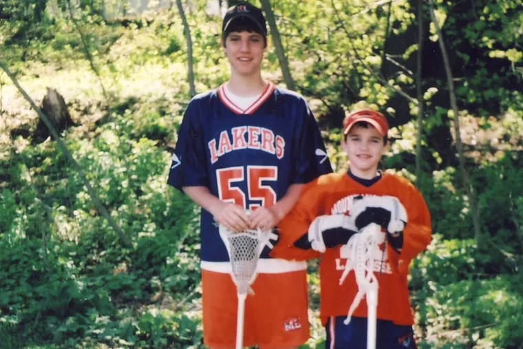 Donald Farrell III, left, and his younger brother, Luke Farrell.