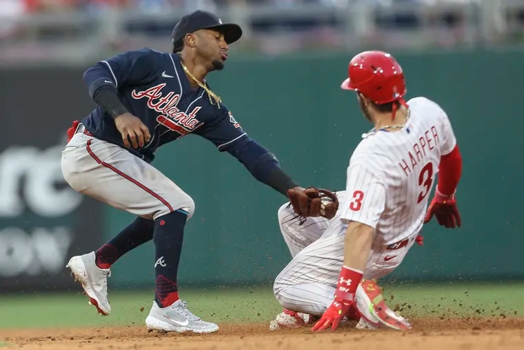Phillies star Bryce Harper, Atlanta Braves second baseman Ozzie Albies, and their respective teams could be headed for a wild finish to the season.