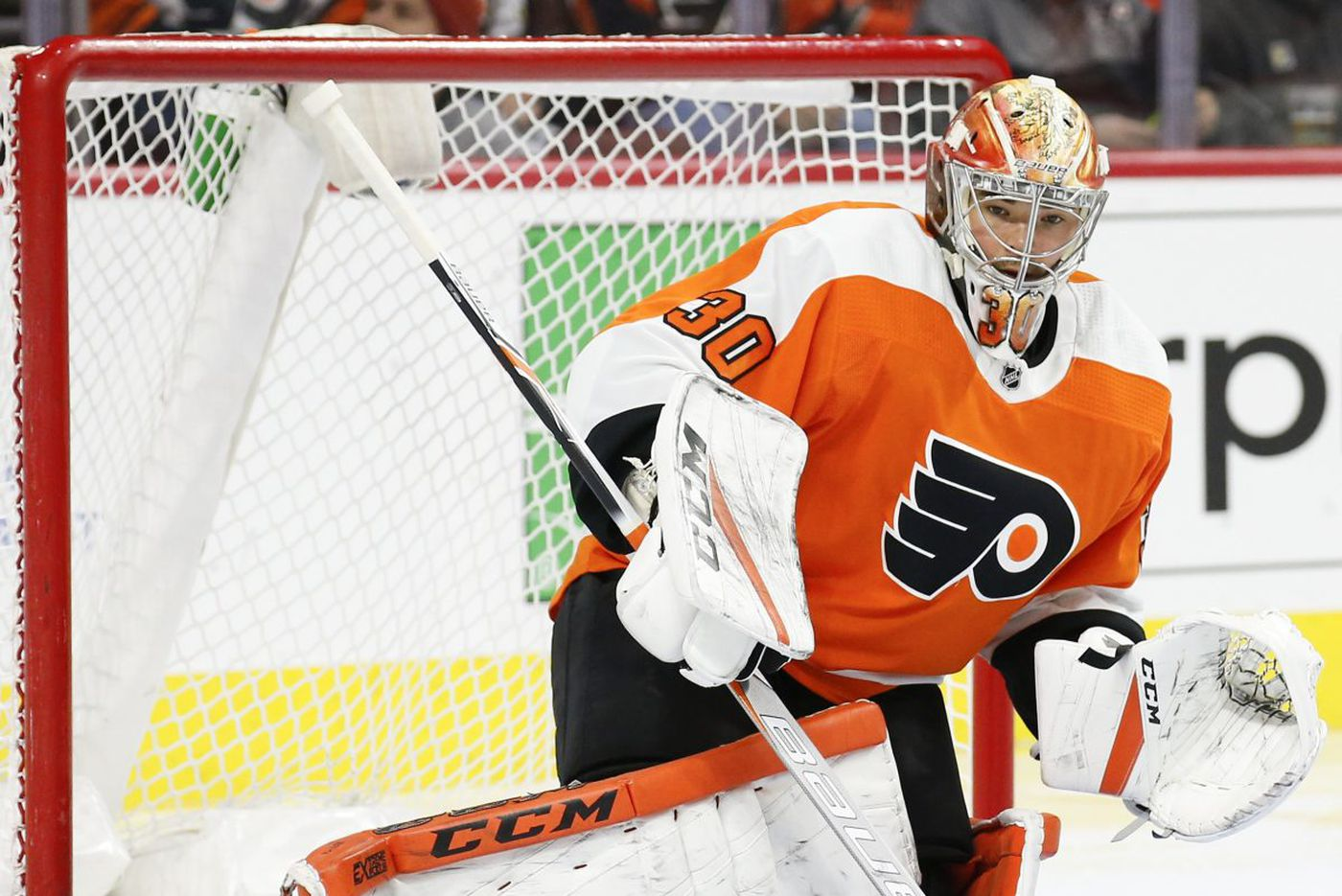 Goalie Michal Neuvirth hopes to play on Flyers' next road trip