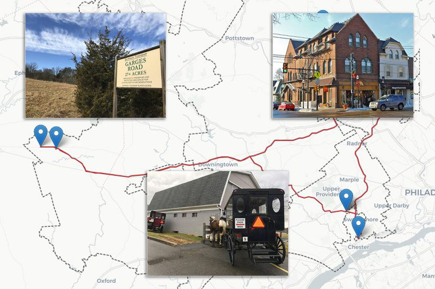 Pat Meehan's district: A trippin' road trip through Pennsylvania's most gerrymandered Land of Make Believe   Maria Panaritis
