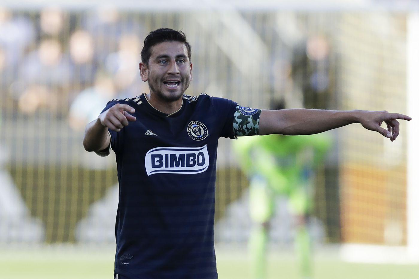 Union captain Alejandro Bedoya no longer a designated player