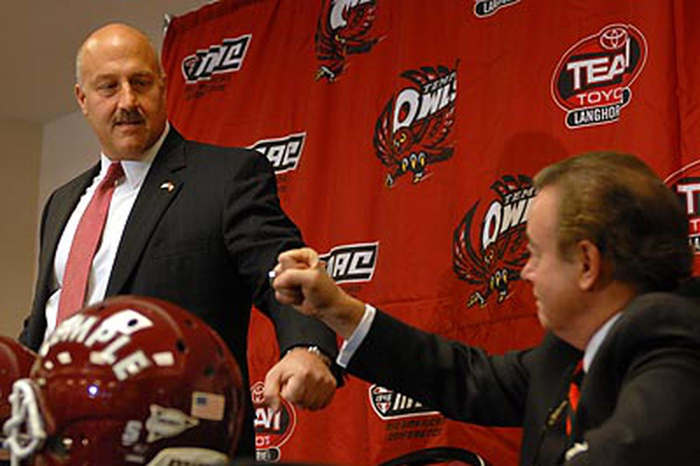 For Temple, a cordial parting, and optimism with a new coach