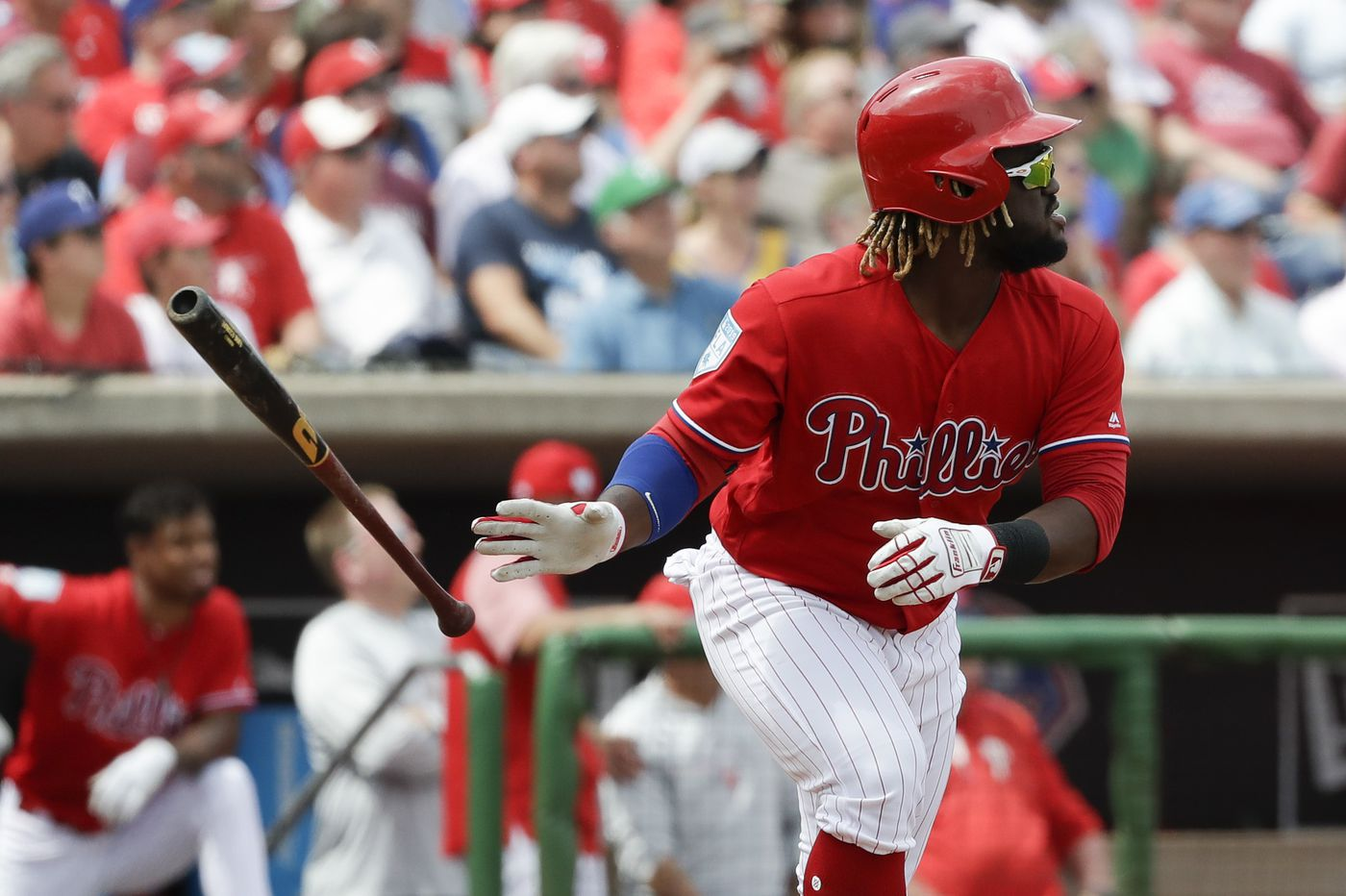 Bryce Harper booed in first game with Phillies