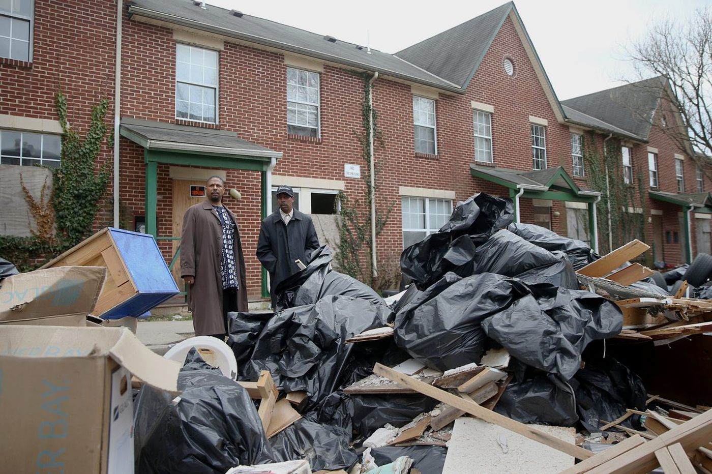 Germantown residents are fighting to bring down the neighborhood's notorious blight king