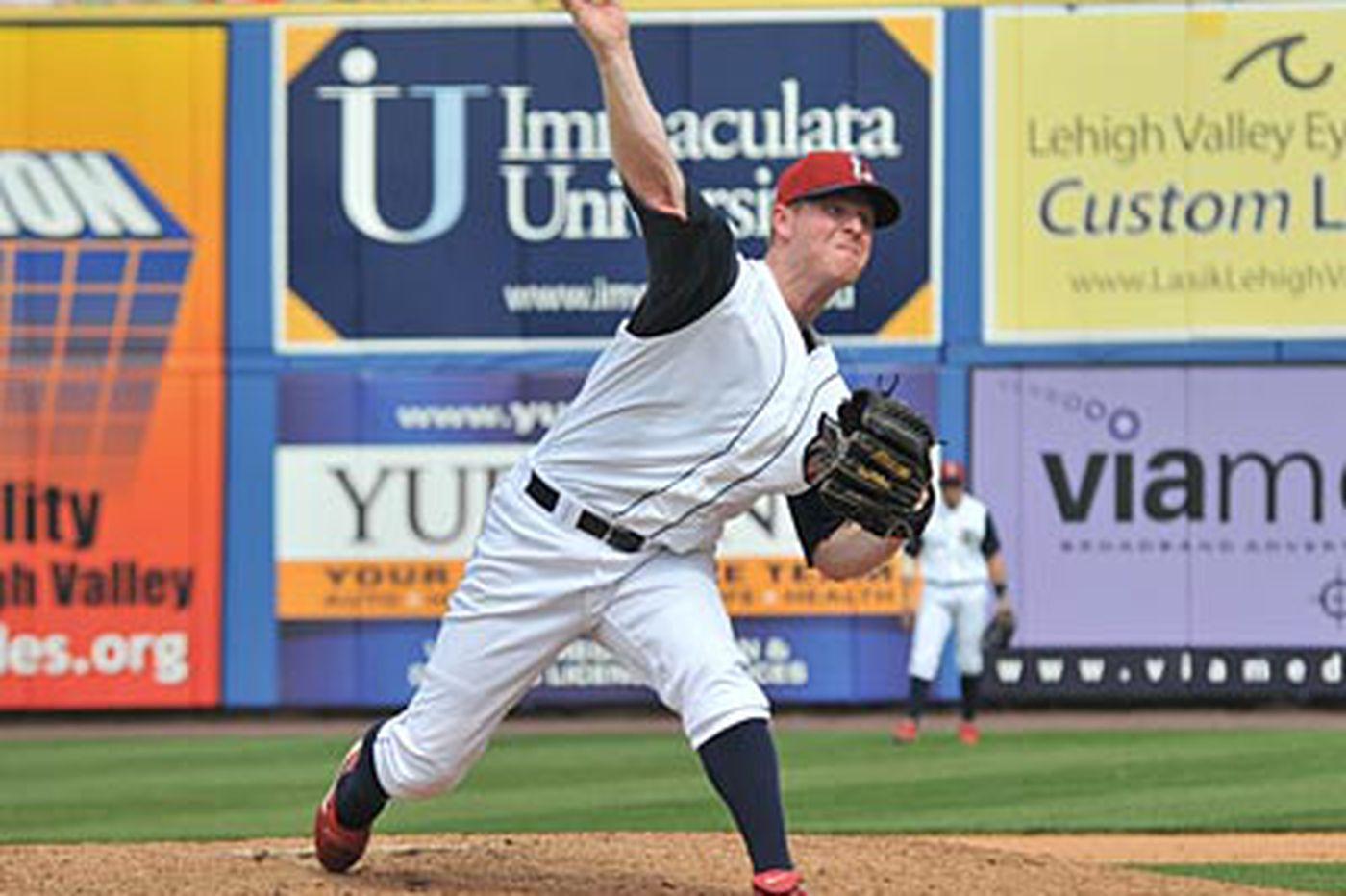 New York Yankees sign Lehigh Valley IronPigs pitcher Brian Gordon