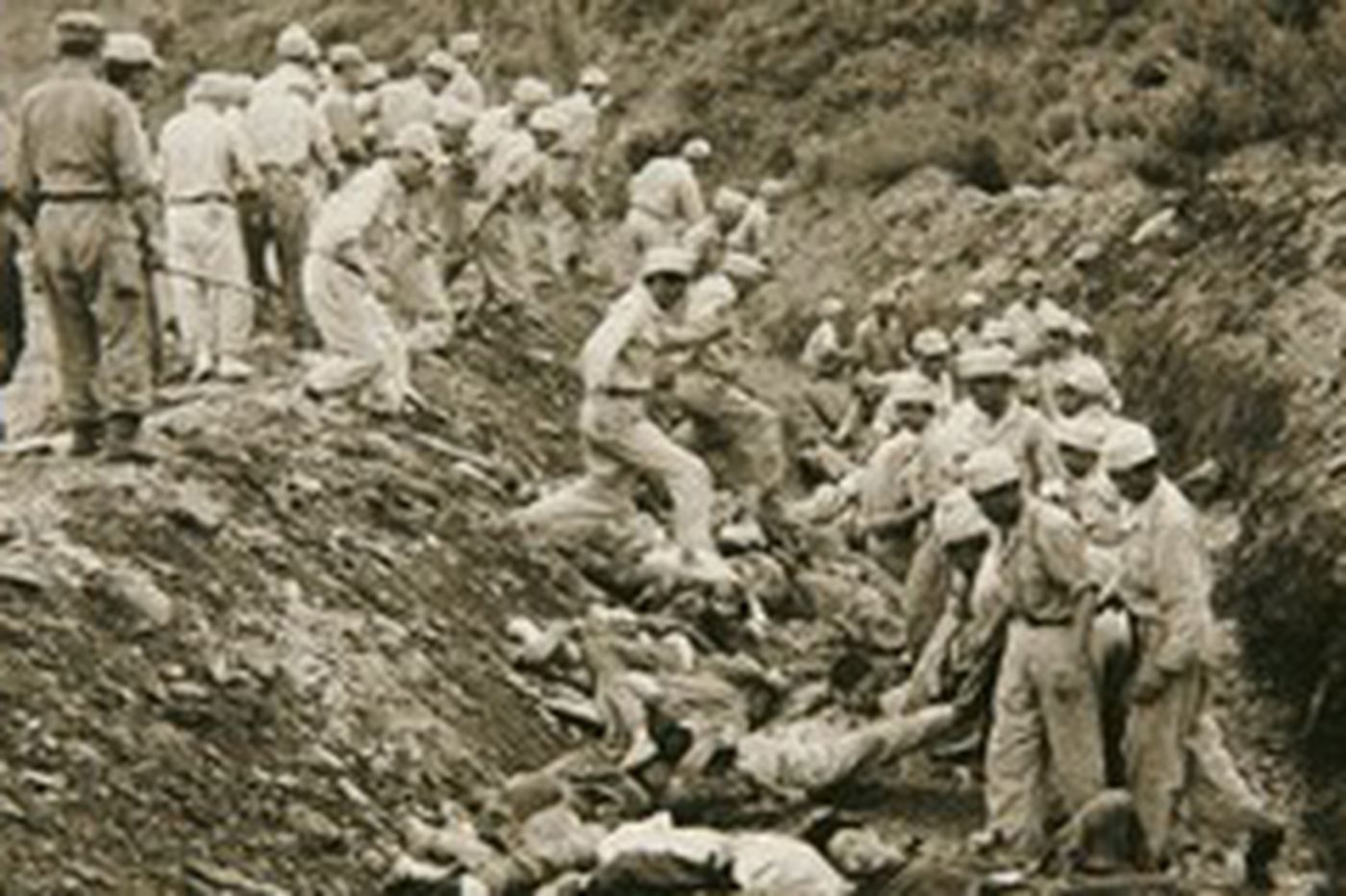 Truth begins to seep out over Korean War massacre Mass graves shed light on 1950 campaign that left thousands dead in South as U.S. turned blind eye