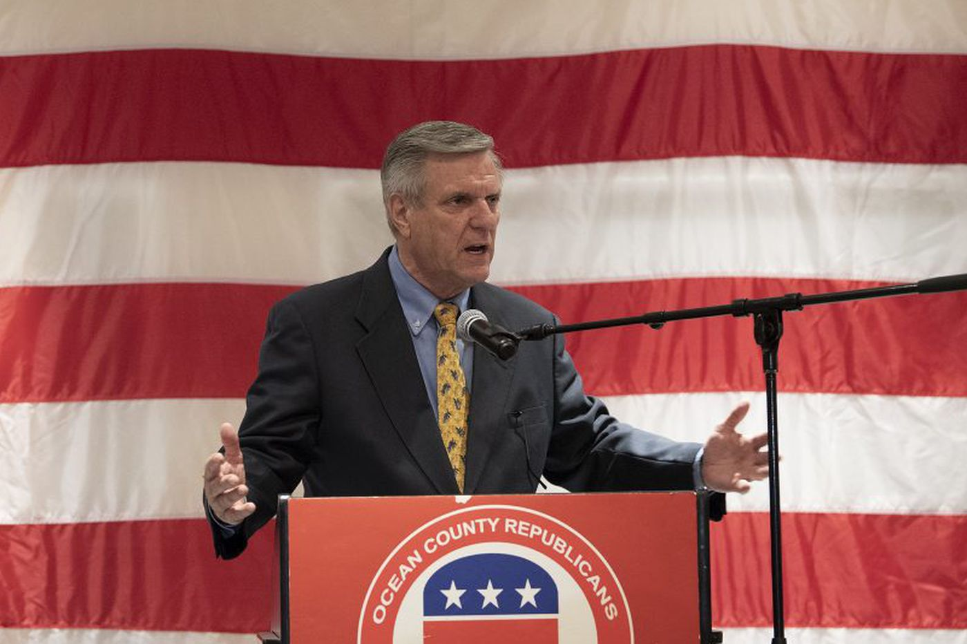New Jersey GOP powerbroker George Gilmore steps down after conviction on tax charges