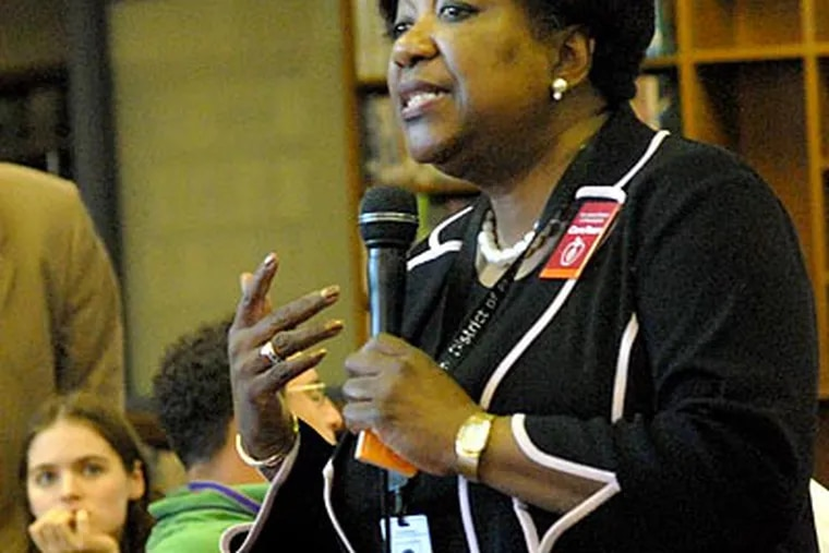 Philadelphia public schools CEO Arlene Ackerman. (April Saul / Staff Photographer / file photo)