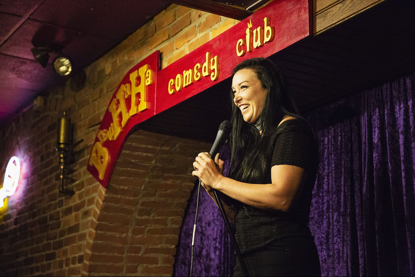 Comedian's cross-country bicycle tour brings her to Philly to fight domestic abuse