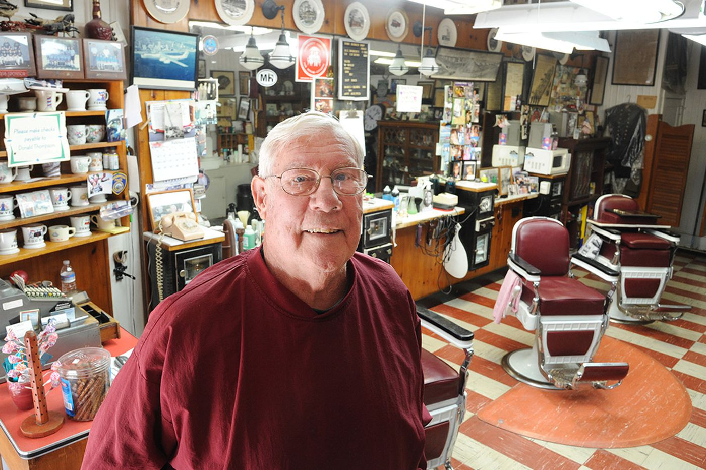 N.J. barber: 6 decades of 'treating people right'