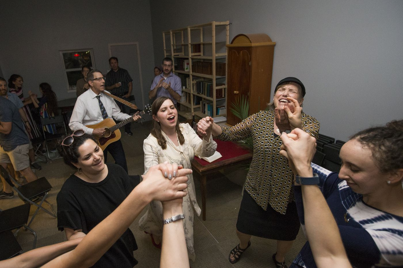 South Philly's historic Jewish community is growing. She opened a new synagogue to serve it.