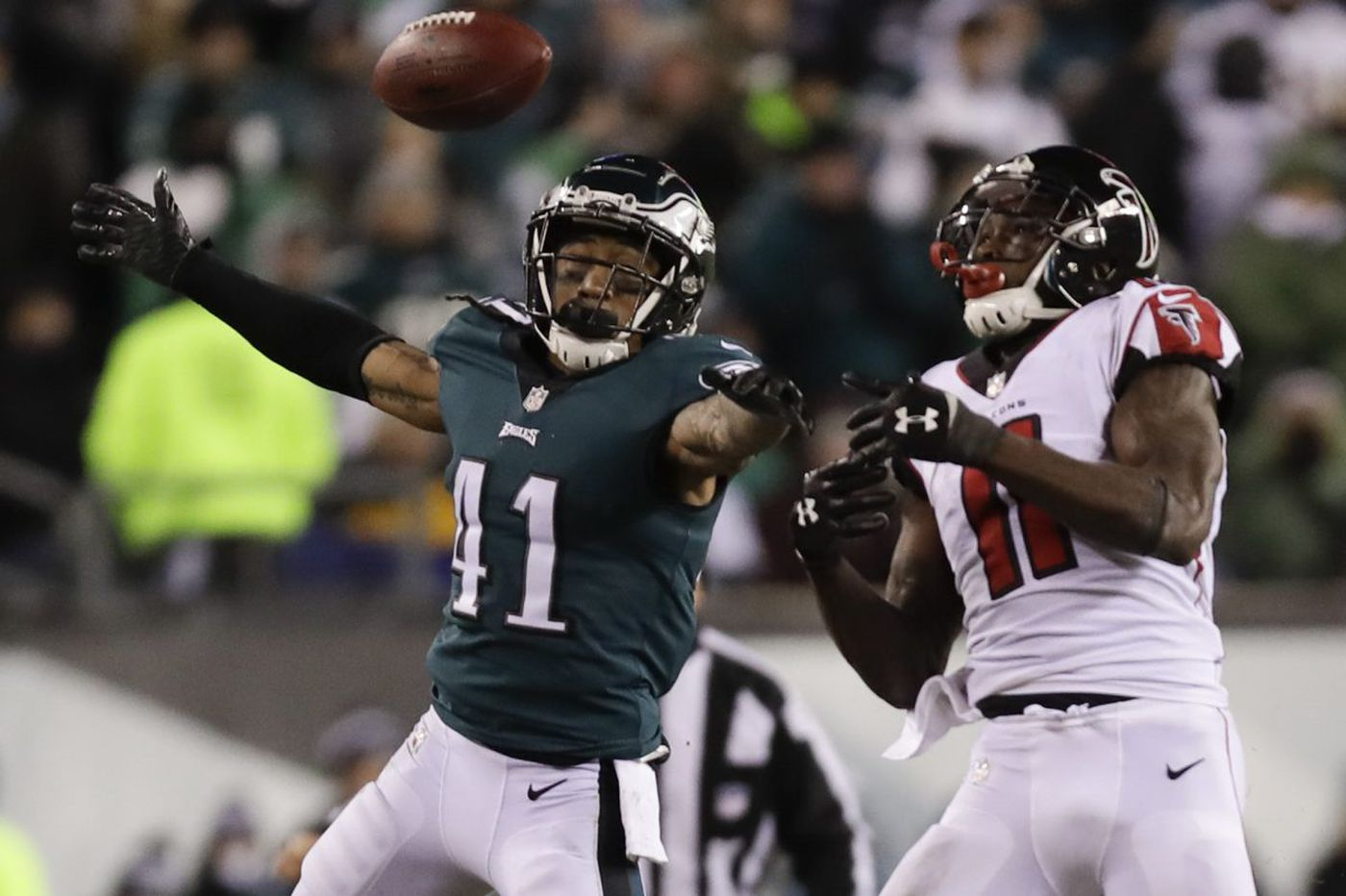 Eagles' secondary containing Julio Jones a key reason they're moving on