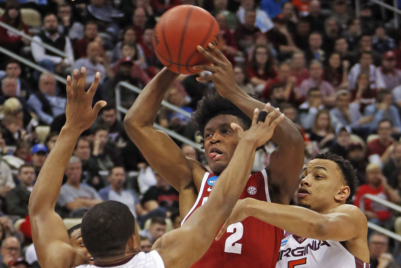 Villanova's second-round March Madness opponent is set as Alabama's Collin Sexton overpowers Virginia Tech