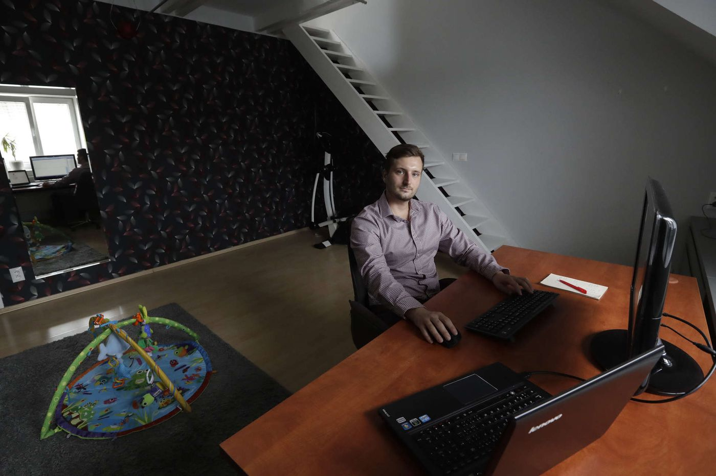 Slack, Skype, Zoom: Remote work is becoming the norm at some small firms