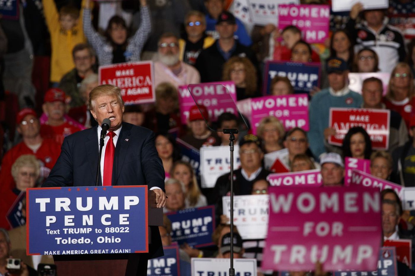 Cities hosting Trump campaign rallies saw uptick in assaults, study finds