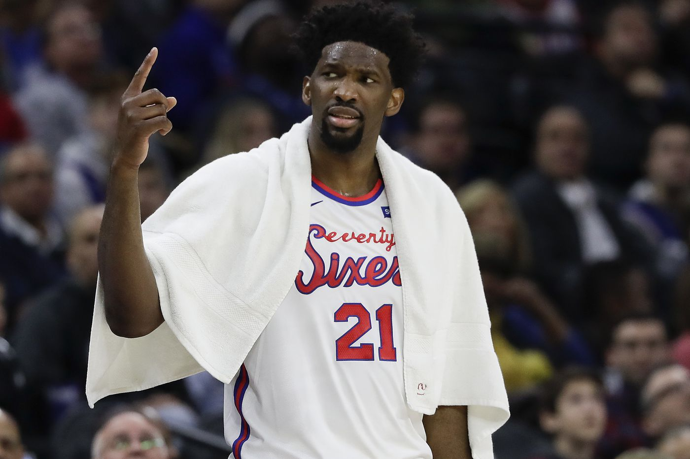 Joel Embiid takes all precautions as Sixers head to Florida for NBA's restart