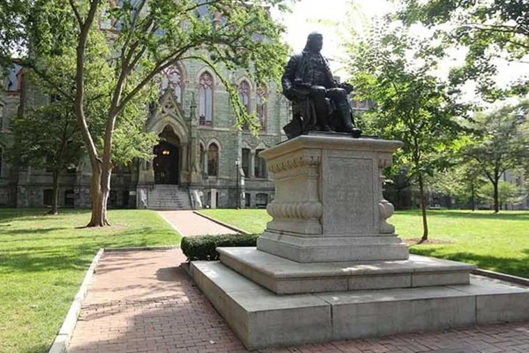 The University of Pennsylvania campus.