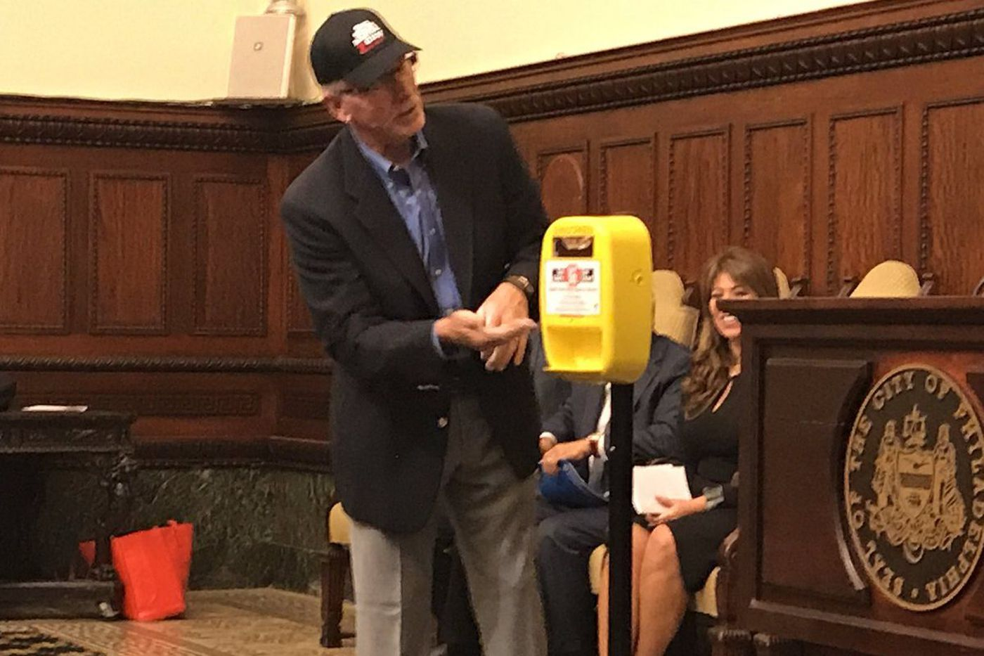 Philly installing free sunscreen dispensers