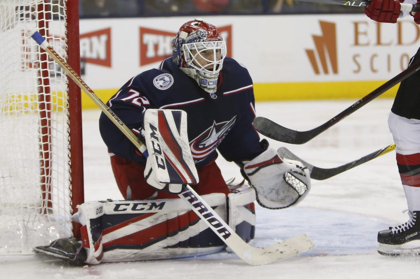 Flyers-Blue Jackets preview: What about Bob (Sergei Bobrovsky)?